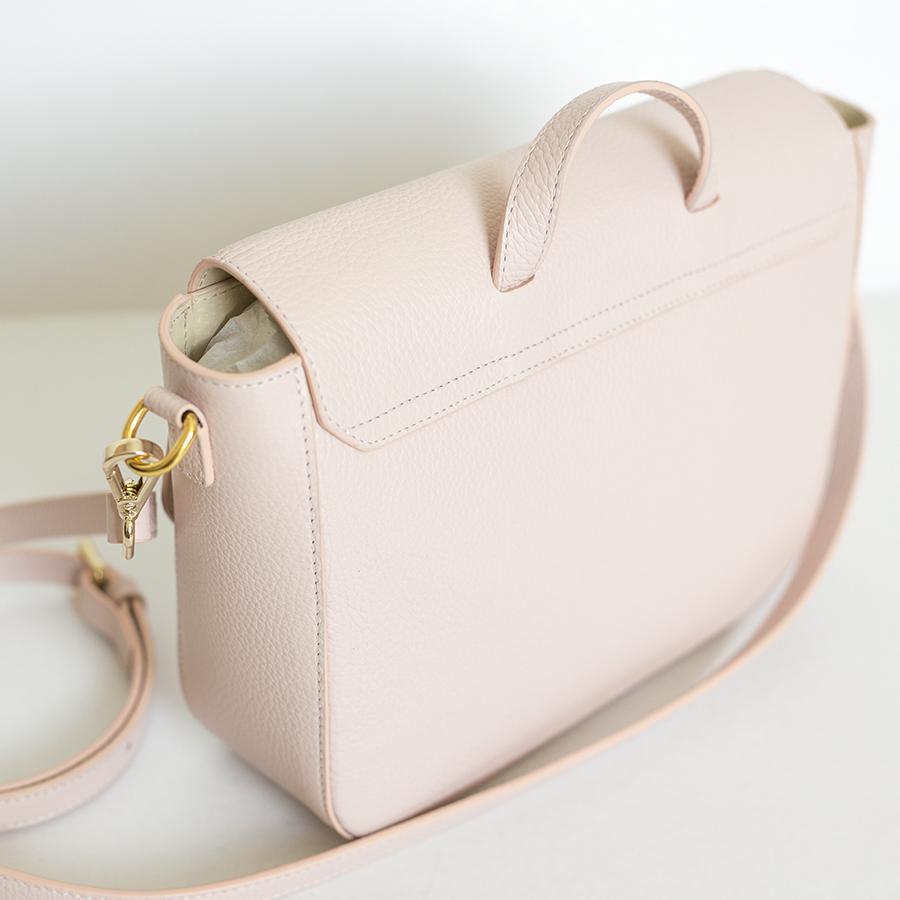 NINA Powder leather bag