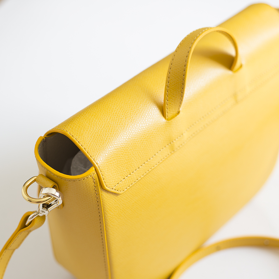 NINA Sunshine leather bag