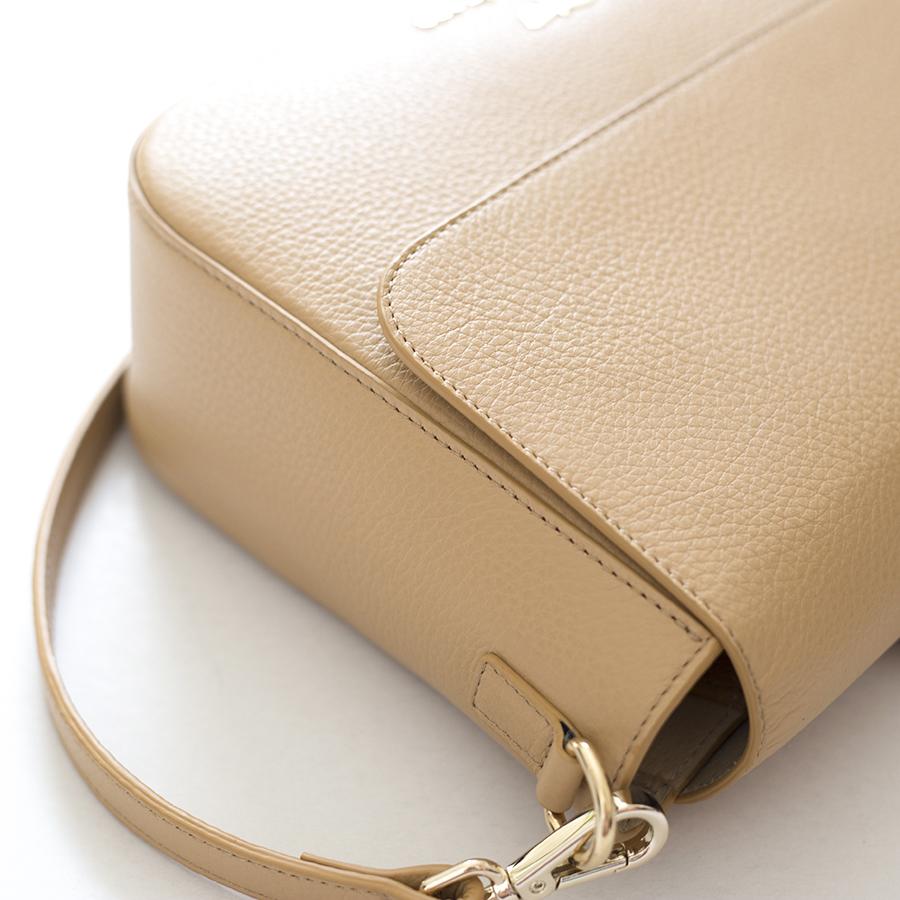 NINA Sand leather bag