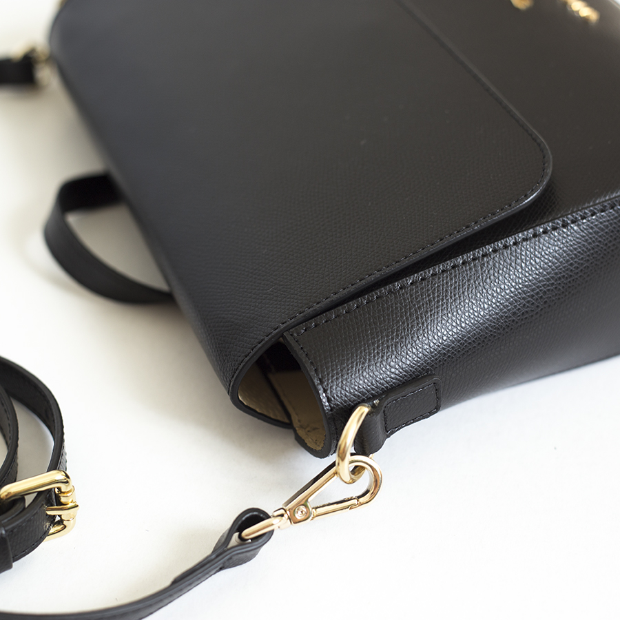 NINA Black leather bag