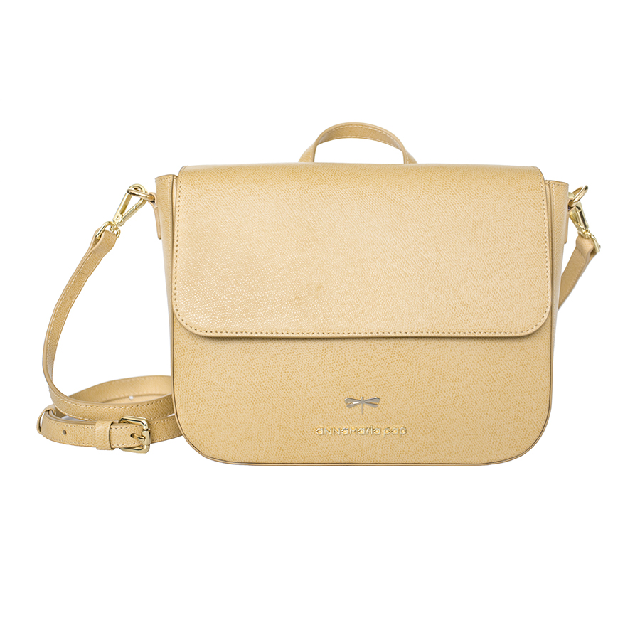 NINA Bamboo leather bag