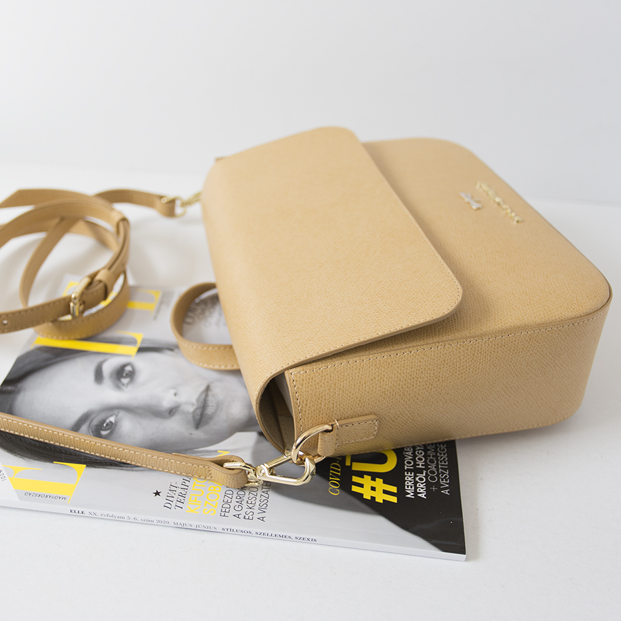 NINA Bamboo leather bag