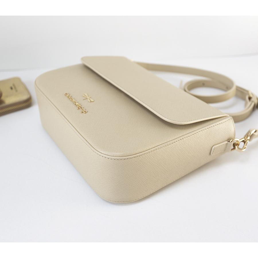 NINA Beige leather bag