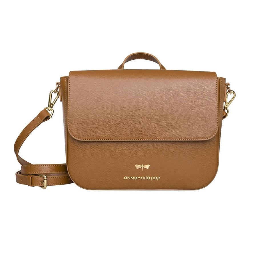 NINA Cinnamon leather bag