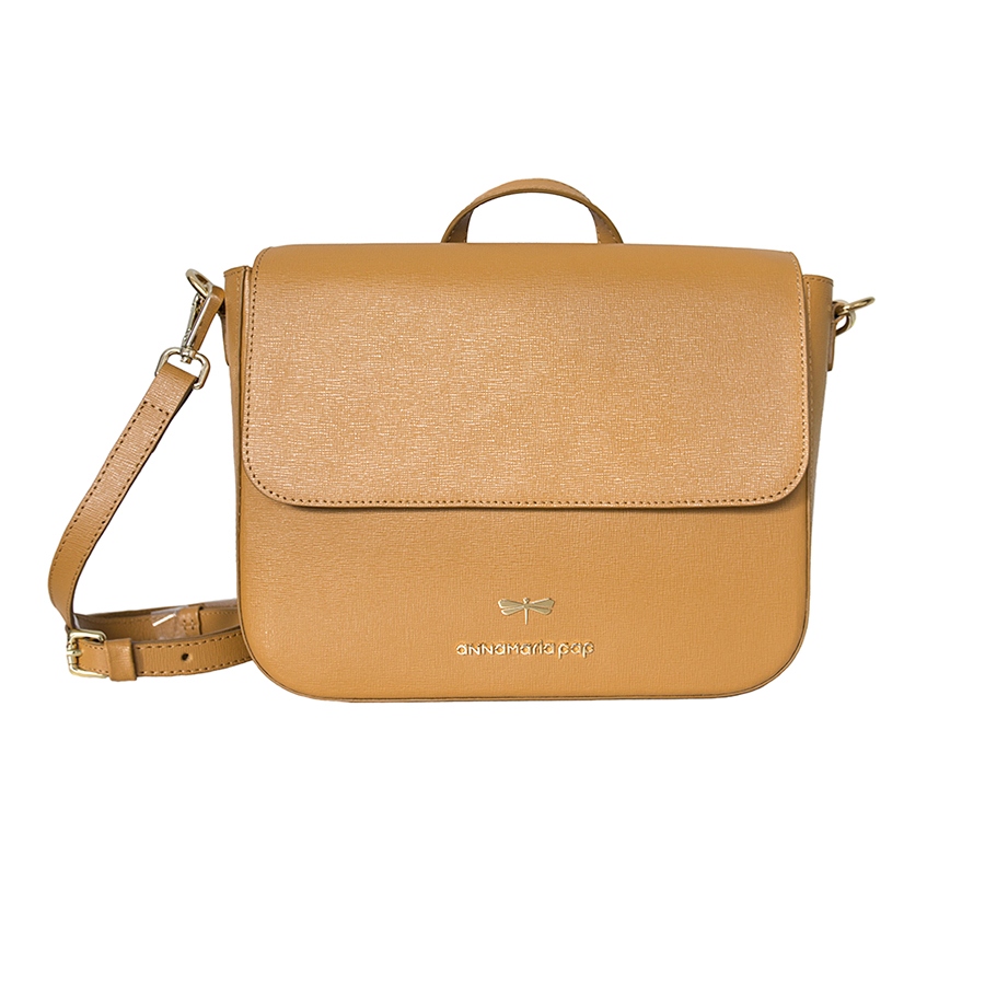 NINA Cognac leather bag