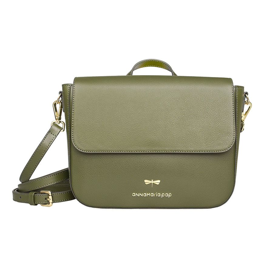 NINA Olive leather bag