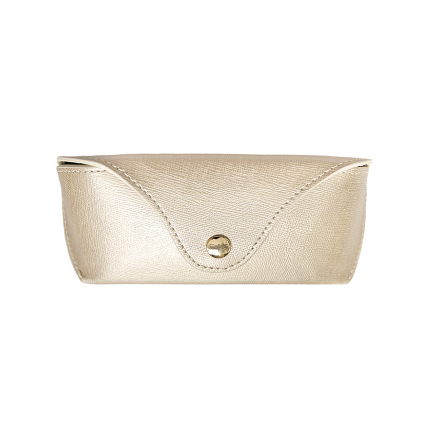 PAM Gold leather eyewear case