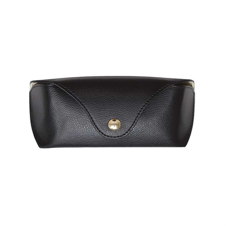 PAM Black leather eyewear case