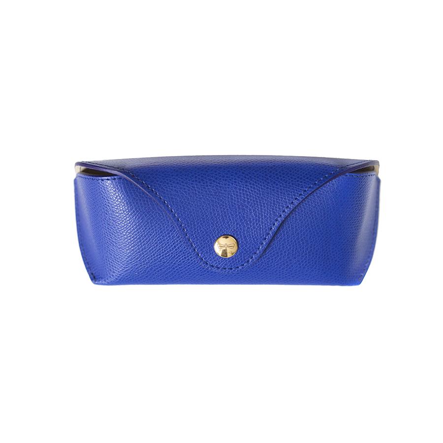 PAM Royalblue leather eyewear case