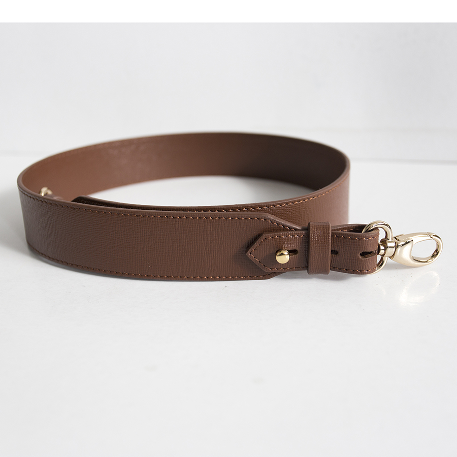 Wide chocolate strap