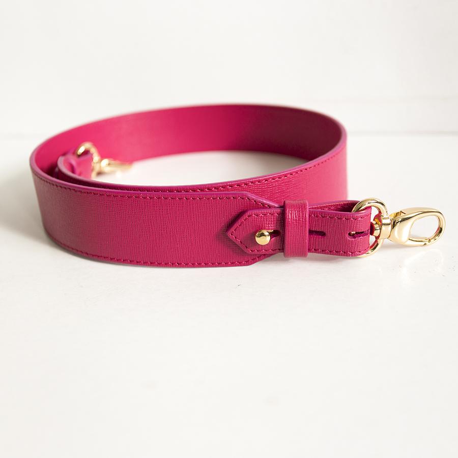 Wide raspberry strap