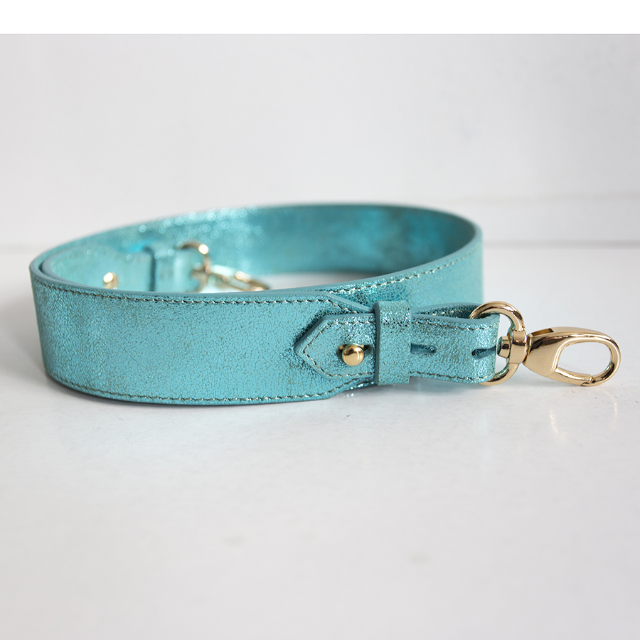 Wide turquoise strap