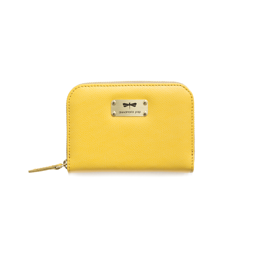 VICKY Sunshine leather wallet