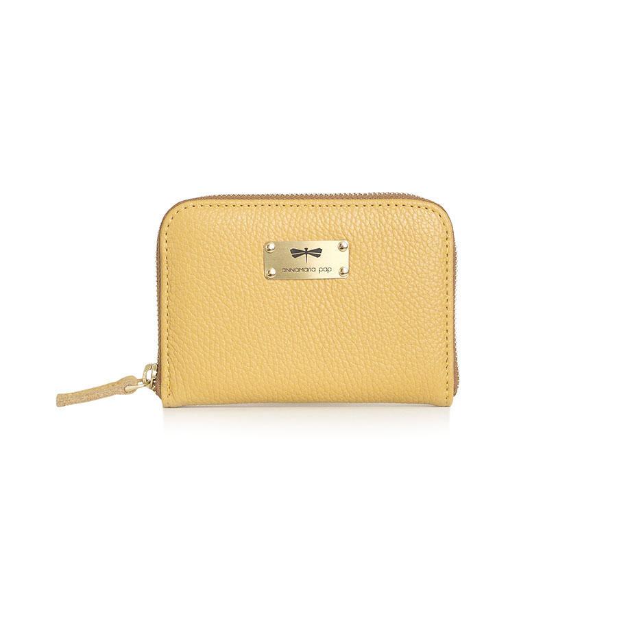 VICKY Ananász bőrpénztárca