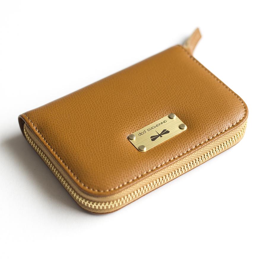 VICKY Fahéj bőrpénztárca