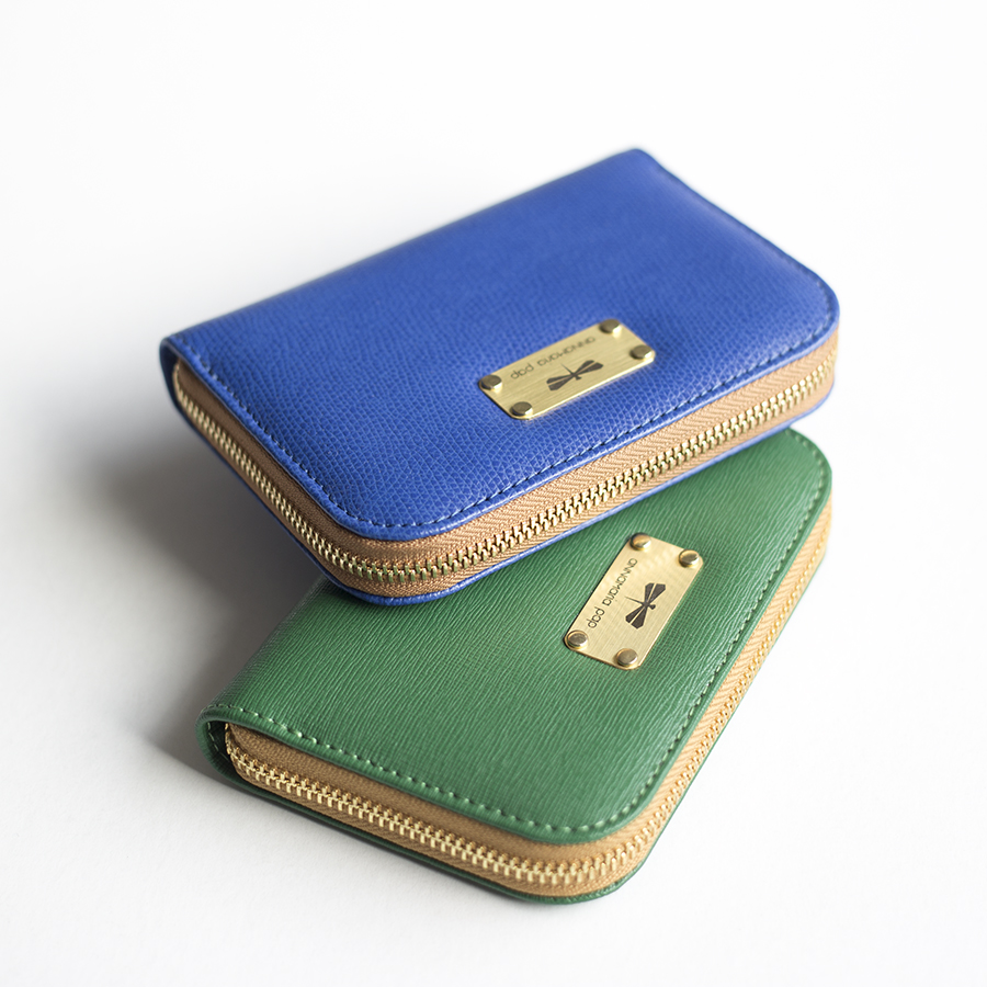 VICKY Royalblue leather wallet