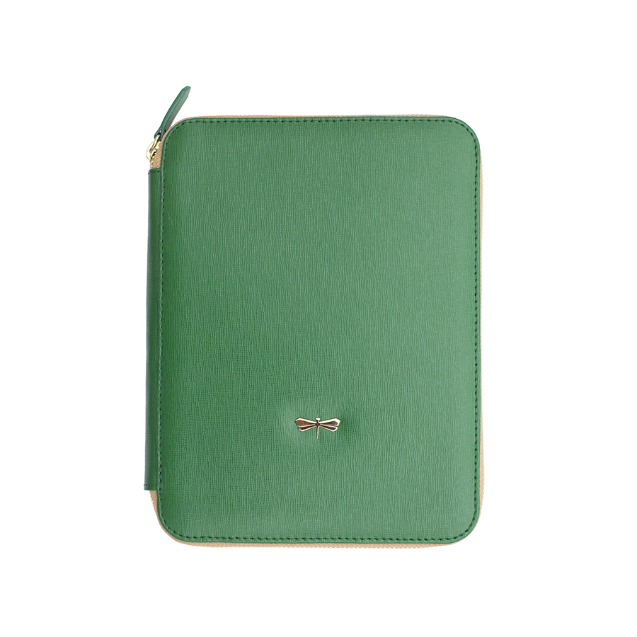 ARIA Emeraldgreen leather case (smaller)