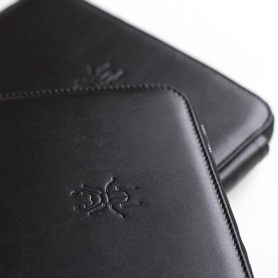 ARIA Black bőrmappa (normál)
