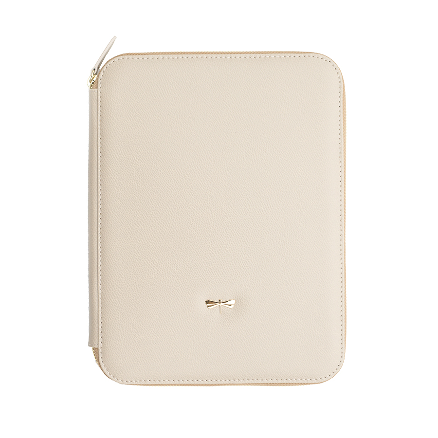 ARIA Almondcream leather case (normal)
