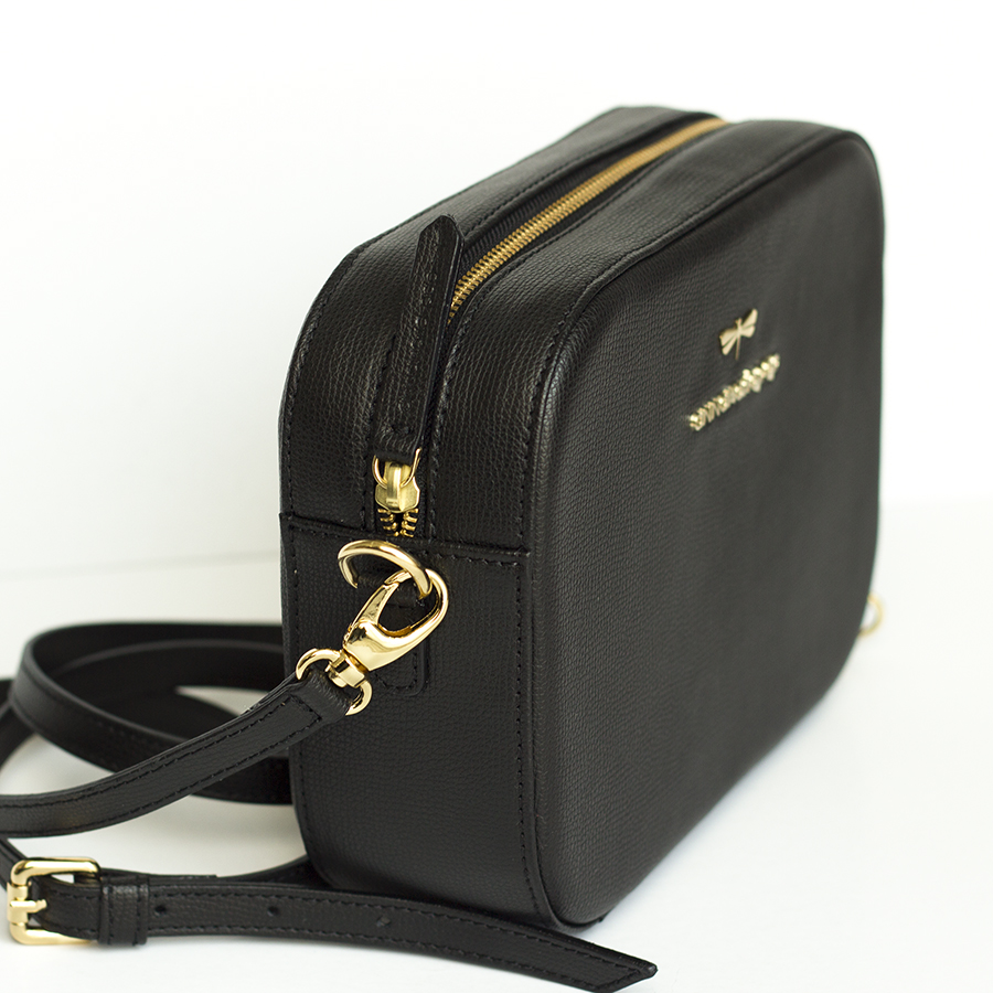 KAREN Black leather bag