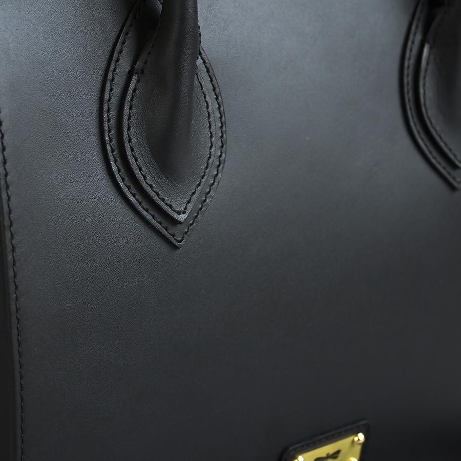 LUCILLA Black bőrtáska
